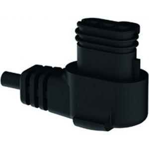 Winkelsteckecker mit Kabel passend für Grunfos und Wilo Pumpen 2 Meter Länge