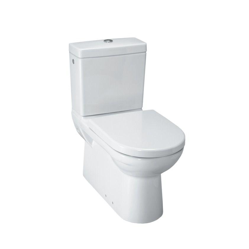 WC Toilette Stand Tiefspüler Spülkasten Stand WC bodenstehend Abgang nach unten