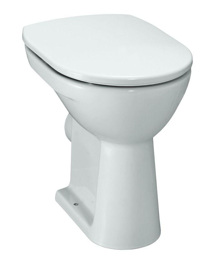 Top Laufen Pro Stand-WC 'comfort', Flachspüler, mit Spülrand, Abgang QY11