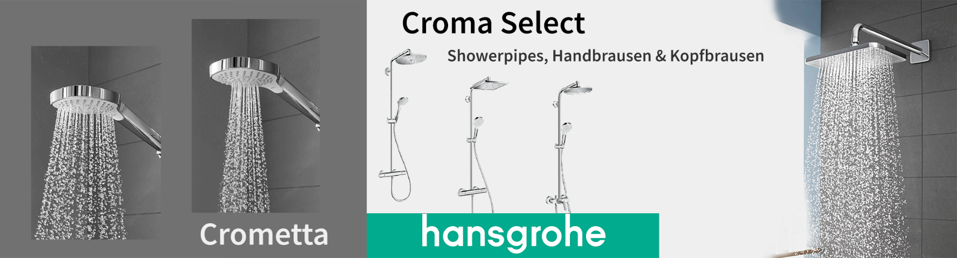 Hansgrohe Crometta Croma_Select